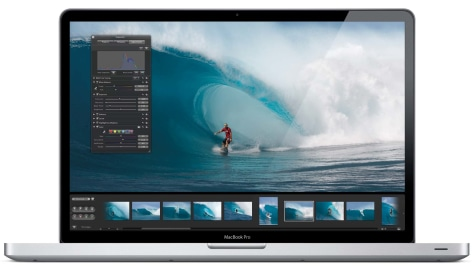 Image: MacBook Pro 17-inch laptop