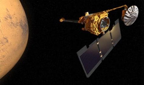 Image: Mars Odyssey