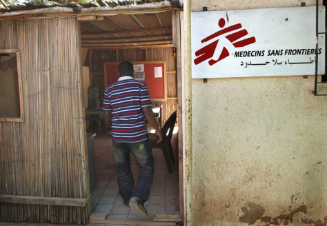 Image: Khartoum office of Doctors Without Borders