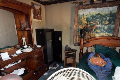 Image: The bedroom of suspected gunman Michael McLendon in Kinston, Ala.