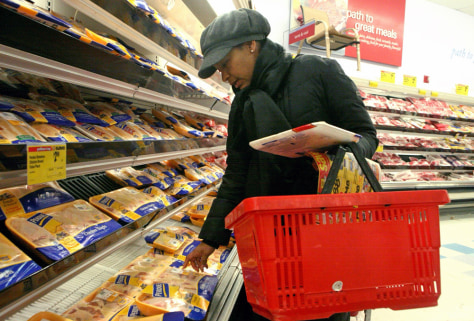 Image: Carla Chery in grocery store