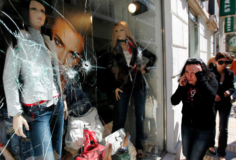 Image: Vandalism in Athens