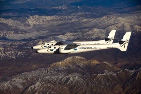 Image SpaceShipTwo mothership WhiteKnightTwo