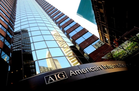 Image: AIG building in New York