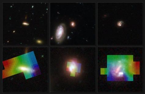 Image: Three galaxies