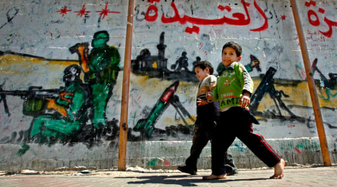 Image: Graffiti in Gaza