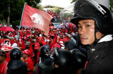 Image: Thai demonstrators