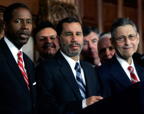 Image: David Paterson, Malcolm Smith, Sheldon Silver