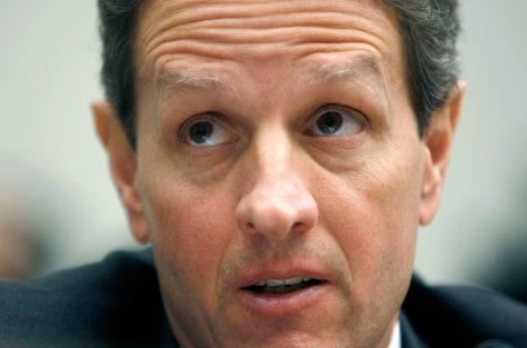 Image: U.S. Treasury Secretary Geithner