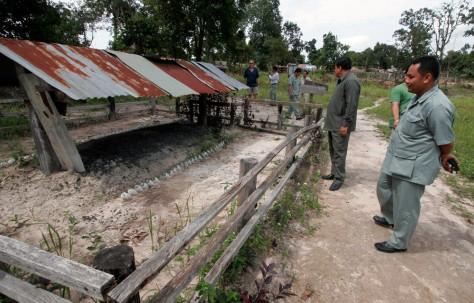 Image: Pol Pot's cremation site