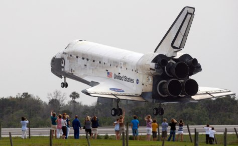 Image: Discovery landing