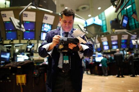 Image: NYSE trader