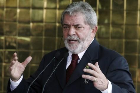 Image: Brazil's President Lula da Silva