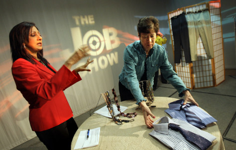 Image: The Job Show set