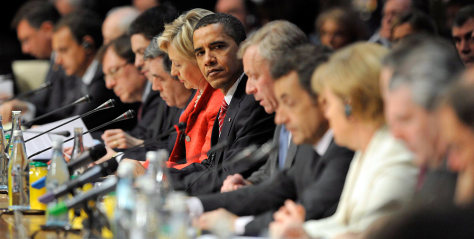 Image: President Barack Obama, NATO leaders