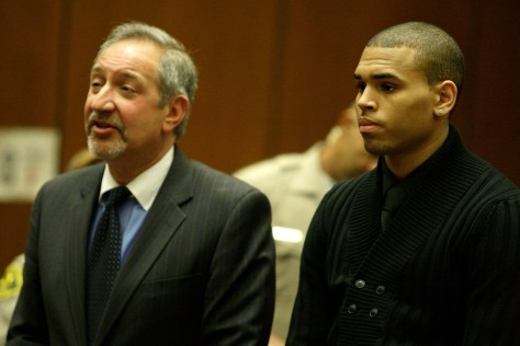 Image: Chris Brown Court Appearance