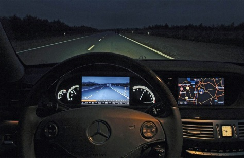 Image: Dashboard of the current Mercedes S-Class