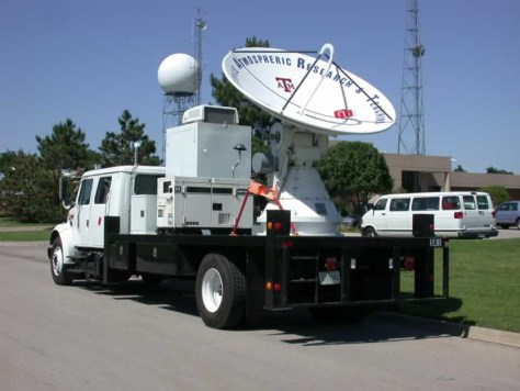 Image: Mobile radar for tornado hunters