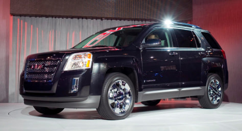 Image: The 2010 GMC Terrain