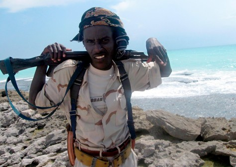 Image: Somali pirate