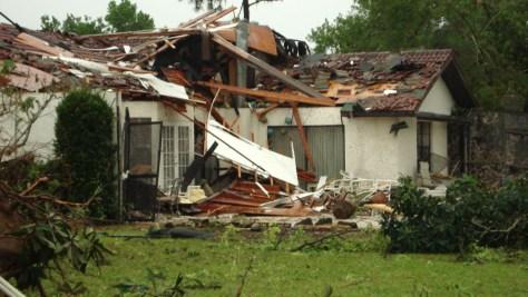 Image: Florida storm damage