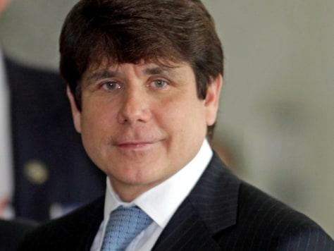 Image: Former Illinois Gov. Rod Blagojevich