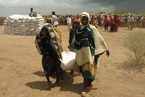 Image: Food aid in Somalia