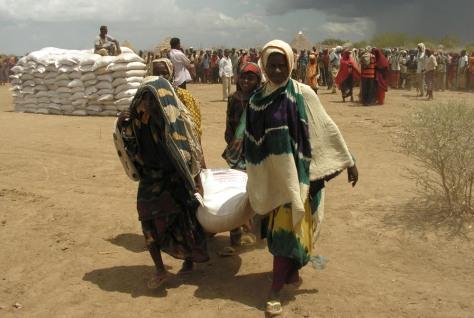 Image: Food aid in Somalia