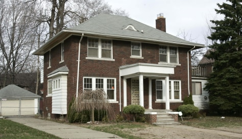 Image: The former residence of Detroit City Councilman Kwame Kenyatta
