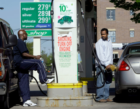 Image: Pumping gas