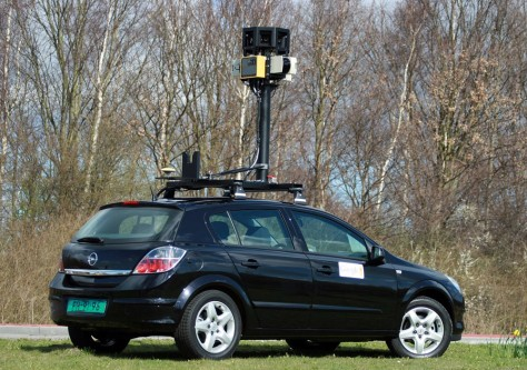 Image: Google car