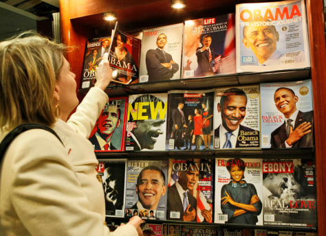 Image: President Obama on magazine covers