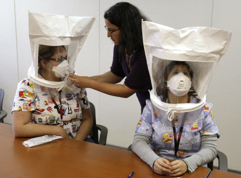Image: Swine flu preparations