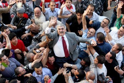 Image: Prisoner Ali Hajj, former police chief's release