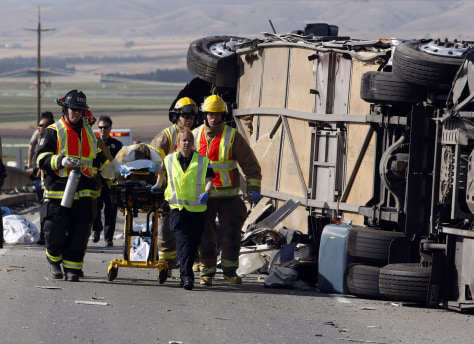 Image: Calif. bus crash