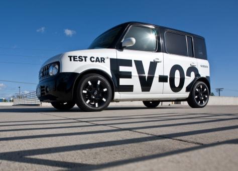 Image: Nissan electric vehicle prototype