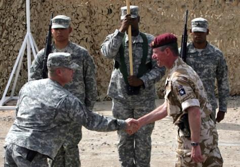 Image: Brigadier Tom Beckett, Col. Henry A. Kievenaar