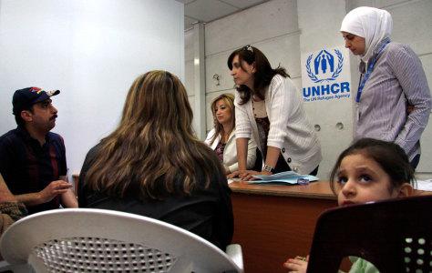 Image: Iraqi refugees