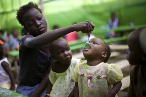 Image: Chronic hunger, Haiti
