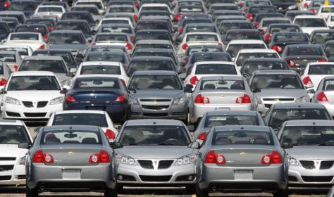 Image: GM cars
