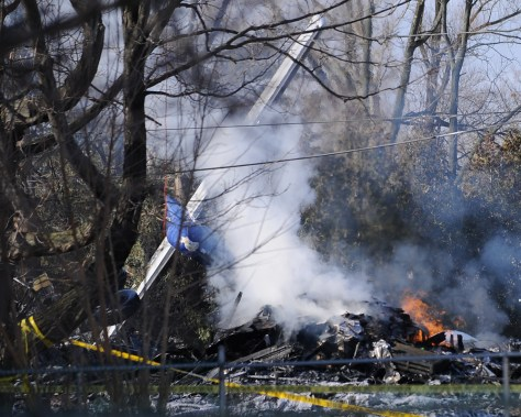 Image: Continental Airlines crash