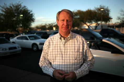 Image: Mike Breyfogle, general manager of Tempe Dodge Chrysler Jeep