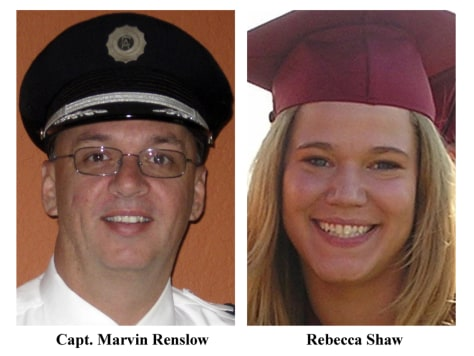 Image: Capt. Marvin Renslow and Rebecca Shaw