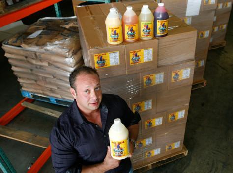 Image: Richard Waltzer, president of Splash Tropical Drinks