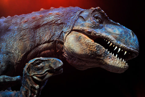 Image: Walking with Dinosaurs exhibit