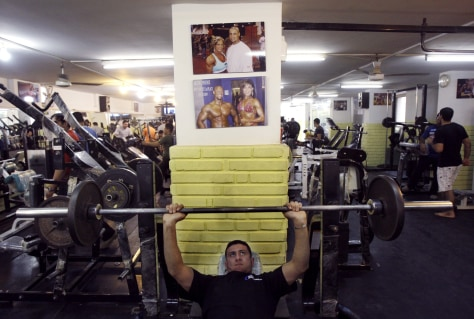 Image: Iraqi health club