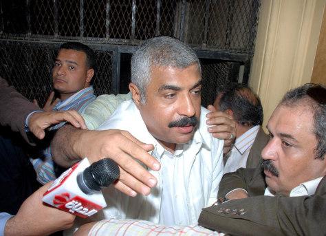 Image: Egyptian business tycoon Hisham Talaat Mustafa