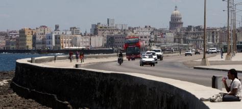 Image: Seafront in Havana, Cuba