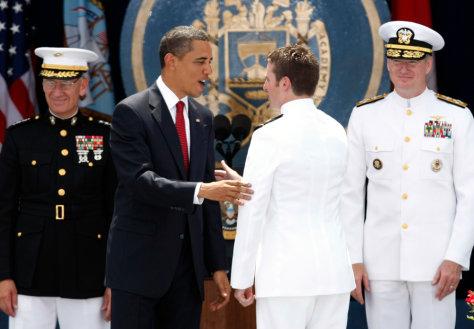 Image: Barack Obama, Jack McCain