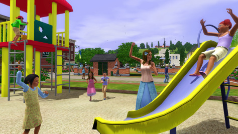 "Image: Video image from ""The Sims 3"""